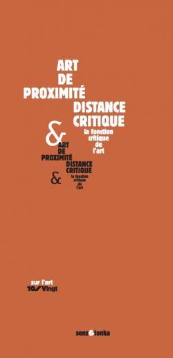 Art de proximité et disance critique
