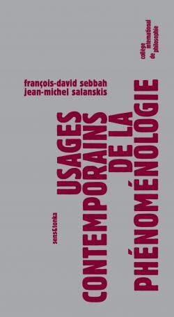 CV Usages contemporains de la phénoménologie Sens & Tonka