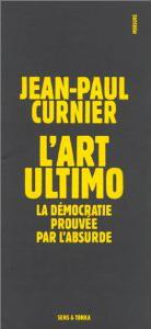 Jean-Paul Curnier Sens & Tonka