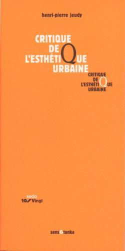 Critique de l'esthétique urbaine